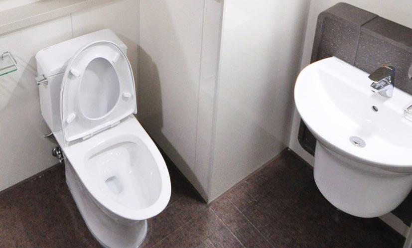 detecting toilet leak